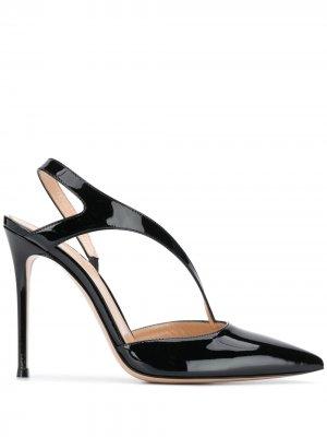 Лакированные туфли на высоком каблуке Gianvito Rossi. Цвет: черный