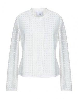 Пиджак AKRIS PUNTO. Цвет: белый