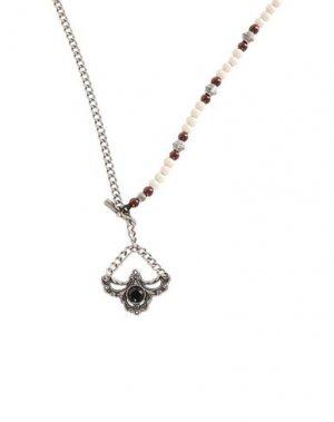 Ожерелье TAGLIATORE. Цвет: слоновая кость