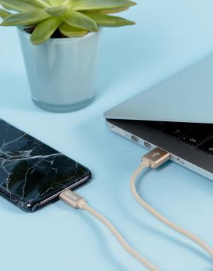 Кабель цвета розового золота для iPhone/iPad от -Мульти Hama