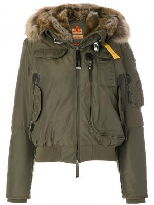Куртка-бомбер Parajumpers. Цвет: зелёный