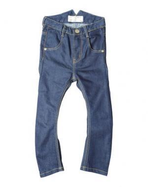 Джинсовые брюки I DIG DENIM. Цвет: синий