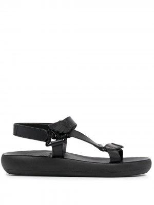 Сандалии Poria Comfort Ancient Greek Sandals. Цвет: черный