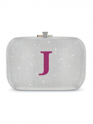 Сумка Slide Lock Customisable Monogram Judith Leiber. Цвет: золотистый
