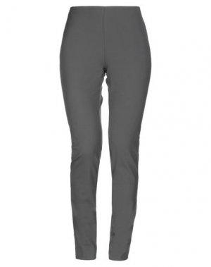 Повседневные брюки LABORATORIO. Цвет: свинцово-серый