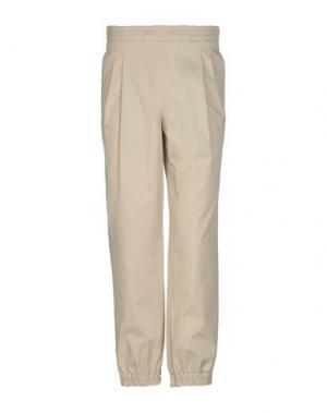 Повседневные брюки KRIS VAN ASSCHE. Цвет: бежевый