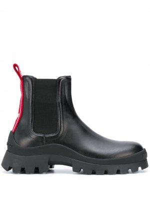 Массивные ботинки челси Dsquared2. Цвет: черный