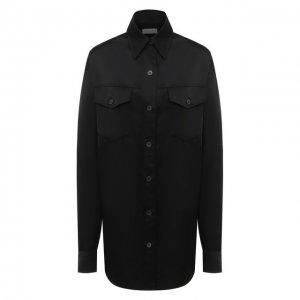 Рубашка Dries Van Noten. Цвет: чёрный