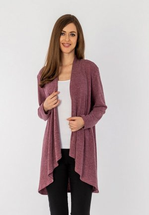 Кардиган S&A Style. Цвет: фиолетовый