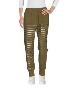Повседневные брюки 8PM. Цвет: зеленый-милитари