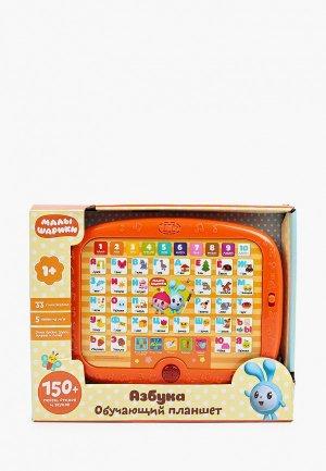 Игрушка интерактивная Умка планшет со светом «Малышарики. Азбука». Цвет: разноцветный