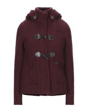 Куртка BARK. Цвет: красно-коричневый