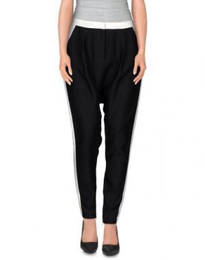 Повседневные брюки CAMEO. Цвет: черный