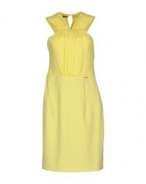 Платье до колена ANNARITA N. Цвет: желтый