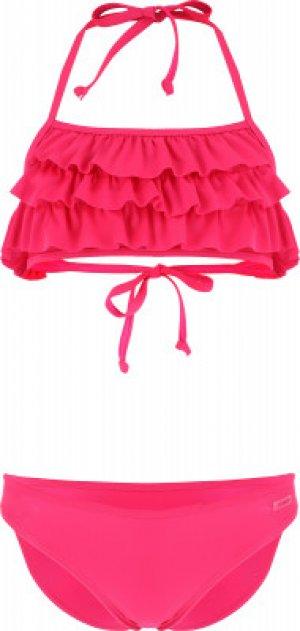Бикини для девочек , размер 128 Joss. Цвет: розовый