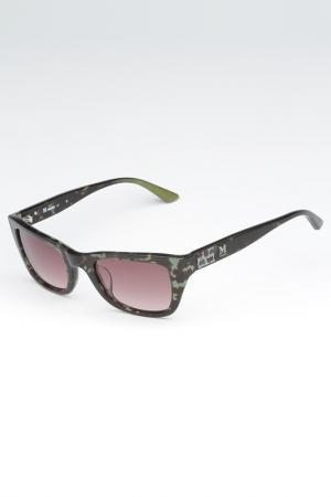 Солнцезащитные очки Missoni. Цвет: черный, зеленый