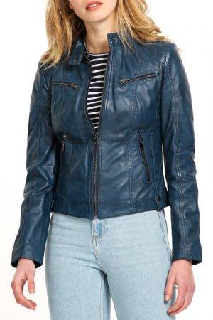 Куртка HElium. Цвет: синий