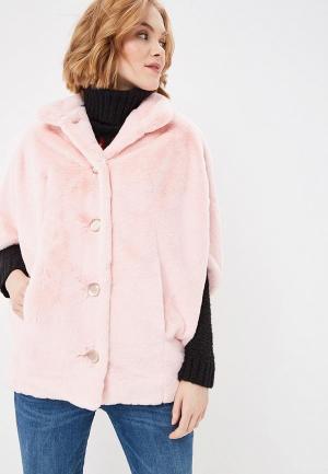 Шуба Ovelli. Цвет: розовый