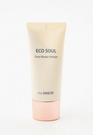 Праймер для лица The Saem ECO SOUL Pore Master Primer, 30 мл. Цвет: прозрачный