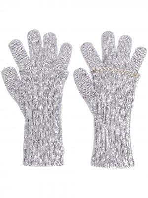 Классические трикотажные перчатки Fabiana Filippi
