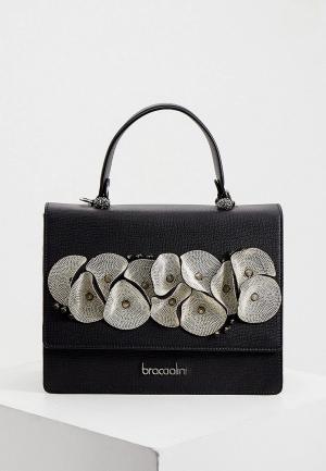 Сумка Braccialini. Цвет: черный
