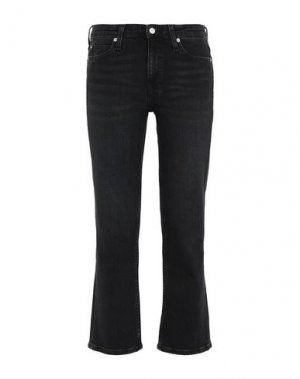Джинсовые брюки-капри CALVIN KLEIN JEANS. Цвет: черный