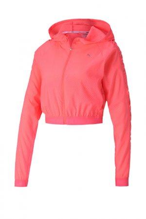 Ветровка Be Bold Woven Jacket Puma. Цвет: розовый