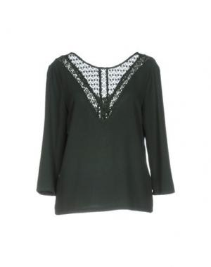 Блузка AXARA PARIS. Цвет: темно-зеленый