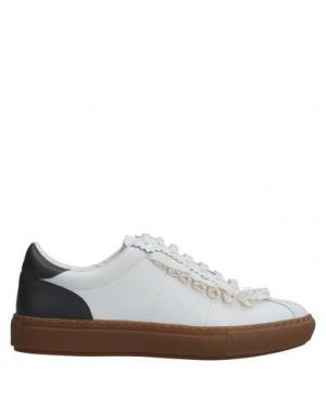 Низкие кеды и кроссовки PINKO. Цвет: серый