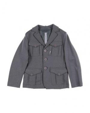 Пиджак ADD. Цвет: серый