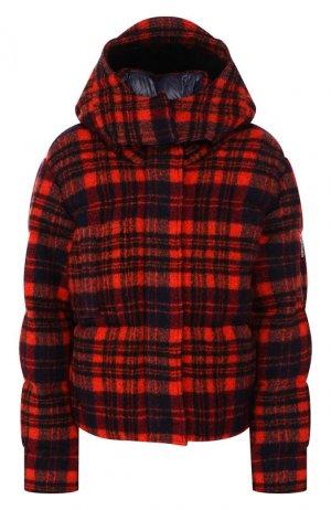 Пуховая куртка Chloé. Цвет: красный
