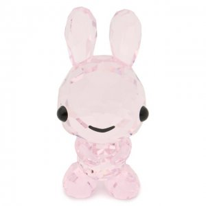Скульптура Rabbit Swarovski. Цвет: розовый