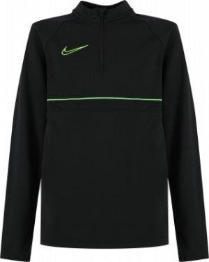 Джемпер футбольный для мальчиков Dri-FIT Academy, размер 137-147 Nike. Цвет: серый