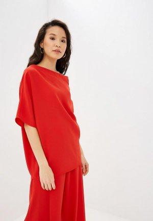 Блуза Adolfo Dominguez. Цвет: красный