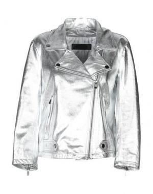 Куртка ENES. Цвет: серебристый