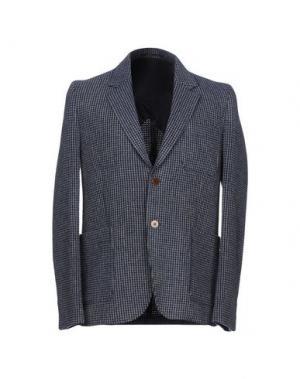 Пиджак BILLTORNADE. Цвет: темно-синий