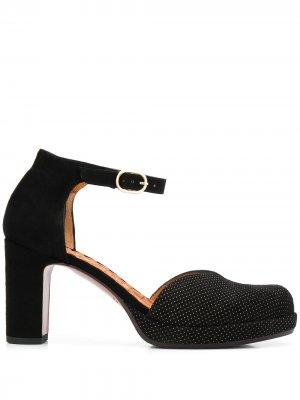 Туфли Dara на блочном каблуке Chie Mihara. Цвет: черный