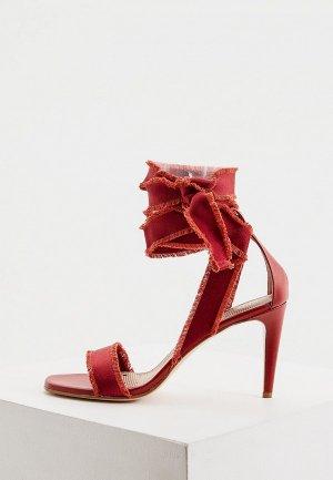 Босоножки RED(V). Цвет: красный