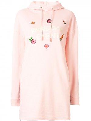 = RDET hoodie dress Puma. Цвет: розовый