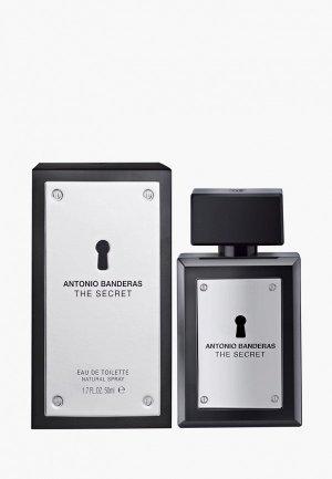 Туалетная вода Antonio Banderas The Secret. Цвет: прозрачный