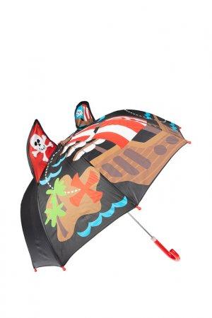 Зонт PlayToday. Цвет: черный