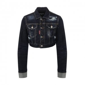 Джинсовая куртка Dsquared2. Цвет: синий