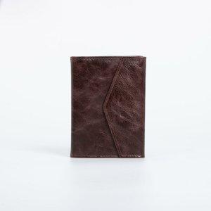 Обложка для автодокументов и паспорта, цвет коричневый TEXTURA