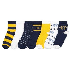 Комплект из пар носков La Redoute. Цвет: белый