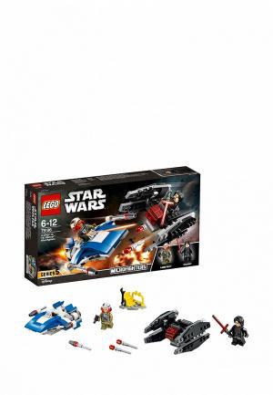 Конструктор Star Wars LEGO Истребитель типа A против бесшумного истребителя СИД 75196. Цвет: разноцветный