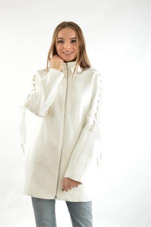 Пальто Guess. Цвет: белый