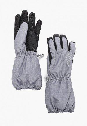 Перчатки Hofler. Цвет: серый