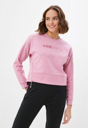 Свитшот Anta Cross Training AEH. Цвет: розовый