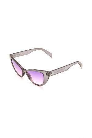 Очки солнцезащитные Italia Independent. Цвет: 071 gls серый прозрачный
