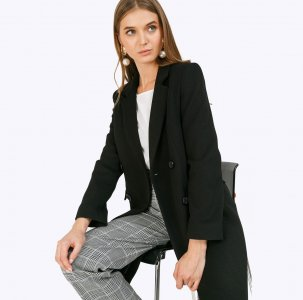 Двубортное пальто EMKA